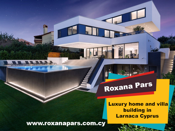 Luxury home and villa building in Larnaca Cyprus